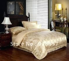 white and gold duvet sets gold king size duvet sets luxurious light gold special prints satin