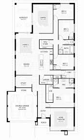 ... Single Story 4 Bedroom House Plans Elegant 4 Bedroom House Plans U0026amp;  ...
