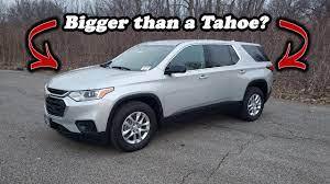 2020 Chevy Traverse Ls Awd Full Review Youtube