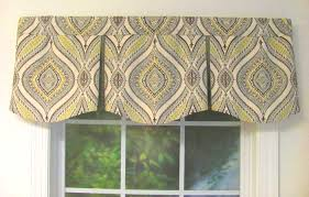 custom window valances. Monica Greystone Curved Box Pleat Valance Custom Window Valances E