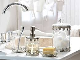 Decorative Accessories For Bathrooms Clear Bathroom Accessories House Decorations 13