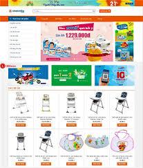 DAW00326 – Web bán đồ dùng cho trẻ sơ sinh | Duy Anh Web - Thiết kế website