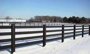 Tuff Stuff 4 Rail Horse Fence avinylfencecom