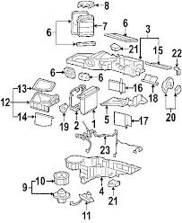 chevrolet silverado evaporator and heater parts diagram 2009 chevrolet silverado 2500 evaporator and heater parts diagram wiring diagram reference