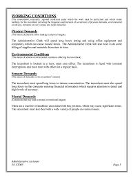 Admin Job Profile Resume Administrative Assistant Job Description Resume 4