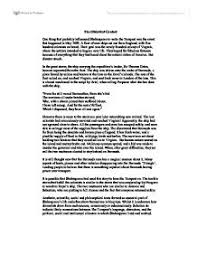 historical context of the tempest a level drama marked by page 1 zoom in