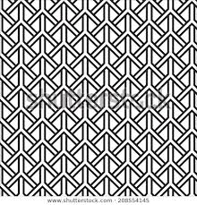 Black White Graphic Pattern Abstract Vector Stock Vector Royalty