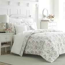 laura ashley bedding 3 piece cotton reversible comforter set by home laura ashley childrens bedding uk