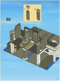 Lego House Plans Lego Police Station Instructions 7498 City