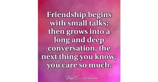 Deep Quotes About Friendship