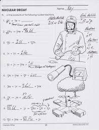 balancing nuclear equations worksheet key balancing nuclear