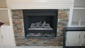 installing tile over fireplace marble surround install mosaic around stone makeover