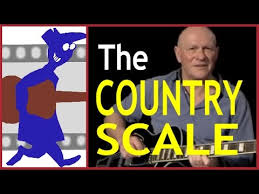 Country Guitar Scales Chart The Country Scale