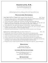 Resume Examples Nursing Magnificent Resume Registered Nurse Resume Examples Nurse Curriculum Vitae
