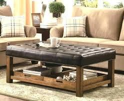 tufted ottoman coffee table ottoman coffee table tufted ottoman coffee table leather coaster storage ottoman coffee