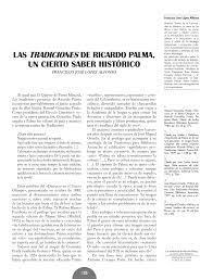 pdf las tradiciones de ricardo palma