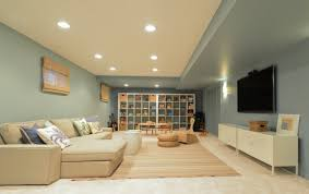 Image Ceiling Architecture Art Designs 16 Interesting Options For Lighting In The Basement