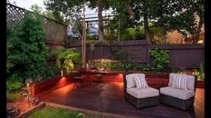small backyard deck garden - Google Search