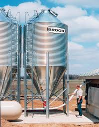 Brock Feed Bin Features Brock Systems For Grain Storage
