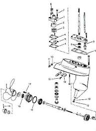 johnson outboard drawing boat engine drawings johnson outboard lower unit parts for 4 to 8 horsepower 1980 and up a tech support drawing