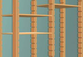 building utility shelves