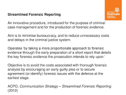 Streamlined Forensic Reporting And The Neo-Liberalisation Of ...