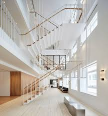 wampamppamp0 open plan office. Office Stairs. Stairs Piercy U0026 Company Suspends Staircase In New Atrium Of Savile Row Wampamppamp0 Open Plan E