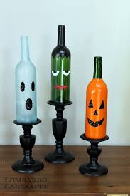 Decorating Empty Wine Bottles Lombardo Lagniappe DIY Halloween Wine Bottles 30