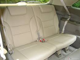 re car seat in 3rd row of acura mdx