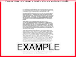 essay on relevance of hobbies in reducing stress and tension in  essay on relevance of hobbies in reducing stress and tension in modern life