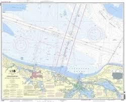 Noaa Chart Chesapeake Bay Thimble Shoal Channel 18th Edition