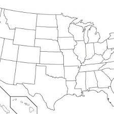 Us Map Unlabeled Printable Save Free Printable Blank Us Map Blank Us