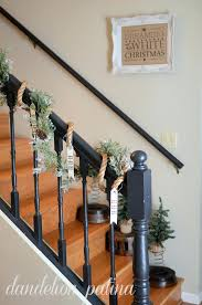 ... Christmas Banister Decoration Gorgeous Banister Decorating Ideas Source  Banister Banquette Diy Christmas Banister Decorations ...
