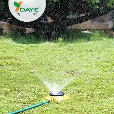 homemade sprinkler system picture of finished diy
