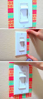 tumblr bedroom ideas diy. Unique Diy Washi Tape Light Switch  18 DIY Summer Tumblr Room Decor Ideas That Are  Insanely Cute In Bedroom Diy