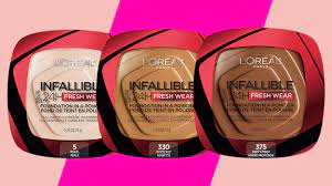 l oreal infallible fresh wear powder