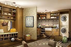Image Calm Mudroom Combo Laundry Room Closet Factory Laundry Room Cabinets Makeover Design Ideas Closet Factory