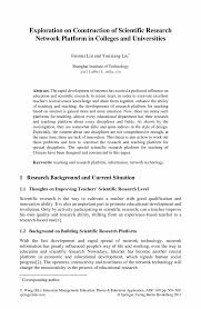 scientific research paper how to write your first research paper how to write a research paper rice university