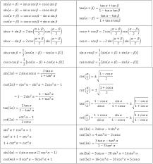 trigonometric basic equations
