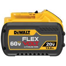 Dewalt Battery Comparison Chart Flexvolt 20v 60v Max 12 0 Ah Battery
