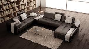 modern leather sectional sofa. Plain Modern Inside Modern Leather Sectional Sofa E