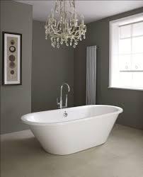 Bathroom Dark Grey Wall Paint Decoration In Modern Contemporary ...