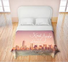 new york city skyline bedding nyc themed bedroom ideas skyline comforter set crayola photo