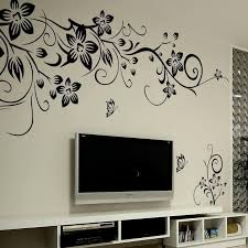 black fl erfly wall sticker for living room kids room office space