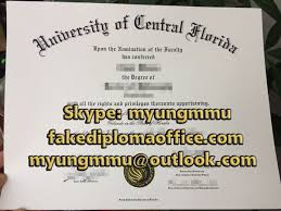 Degree Order Fake To Office Ucf How Sample Central Diploma Florida