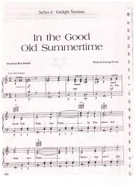 in the good old summertime 000