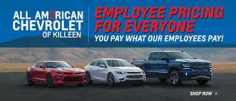 All American Chevrolet of Killeen Near Fort Hood, Temple & Fort Hood