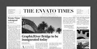 Free Newspaper Template Psd Top 50 Layer Styles Elements And Templates For Quick Graphic Jobs