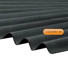 corrapol bt black corrugated bitumen sheet 930x2000mm