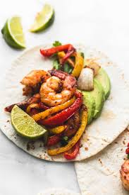 sheet pan shrimp fajitas sheet pan chili lime shrimp fajitas creme de la crumb